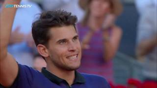 Brilliant Points in Thiem v Federer Battle | Madrid 2019