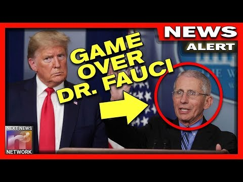 BOOM! Dr. Fauci Is FINISHED! Trump Drops HUGE HINT About Fauci's Fate That Will Make You CHEER!