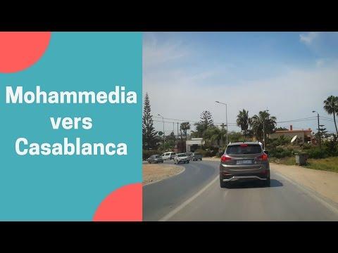Balade voiture 🚘 Mohammédia vers Casa bernoussi par Ain Harouda