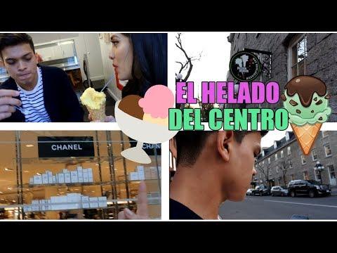 FUIMOS A UNA HELADERIA EN EL CENTRO DE OTTAWA|14 de mayo 2018