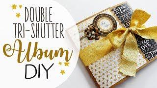 Album delle feste doppia Tri-Shutter - Double tri-shutter Album Holidays
