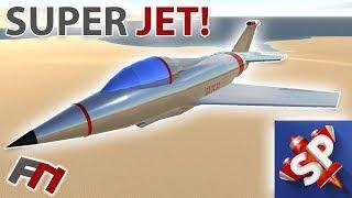 SUPER JET! - SIMPLE PLANES  -  Teesside T 100