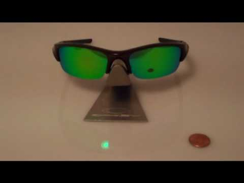 e825b54c49 Custom Polarized Green Lenses for the Oakley Flak Jacket - YouTube