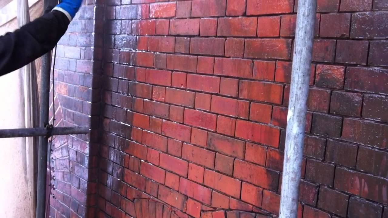 Chemical brick cleaning youtube - How to clean brick house exterior ...