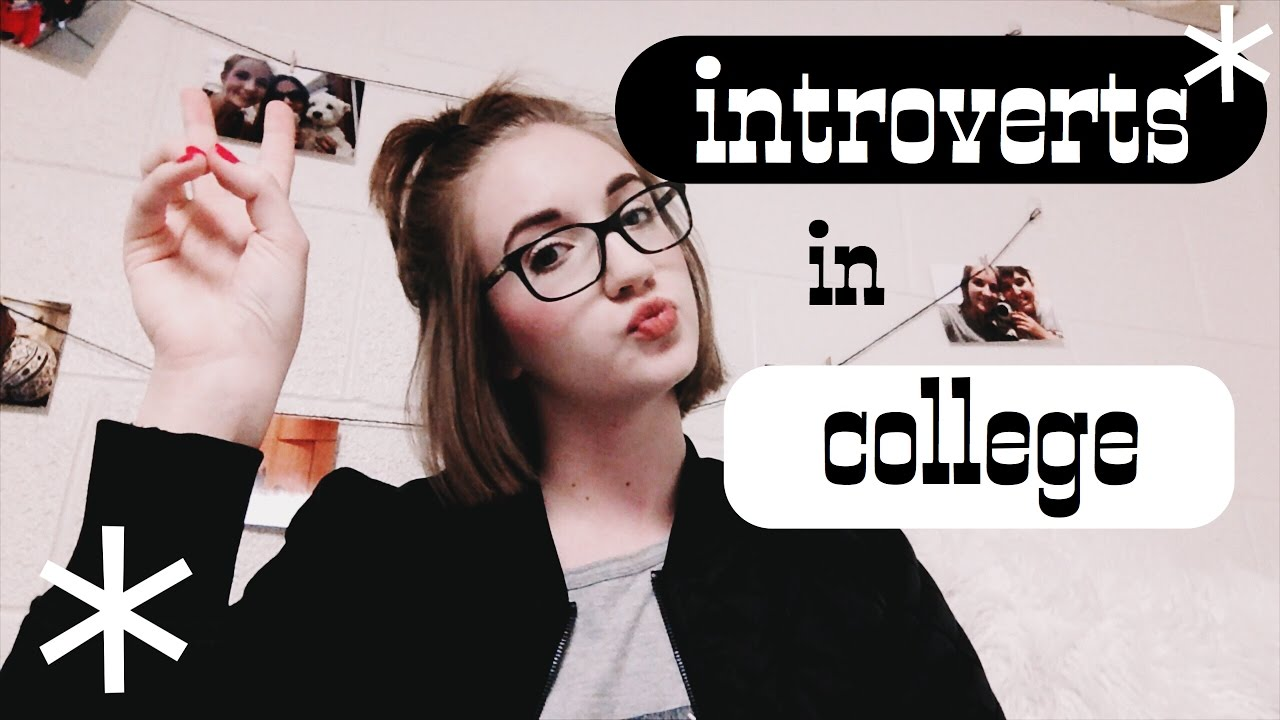 tips for introverts in college - YouTube
