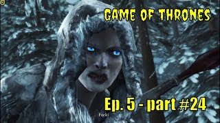 "⛪Game of thrones ⛪: "" Rodrik kills the traitor Royland ""  Ep. 5 - part #24"