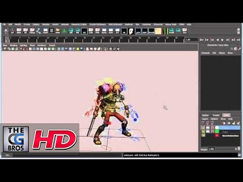 """CGI 3D Tutorial HD: """"Using Animation Layers in Maya"""" - by 3dmotive"""