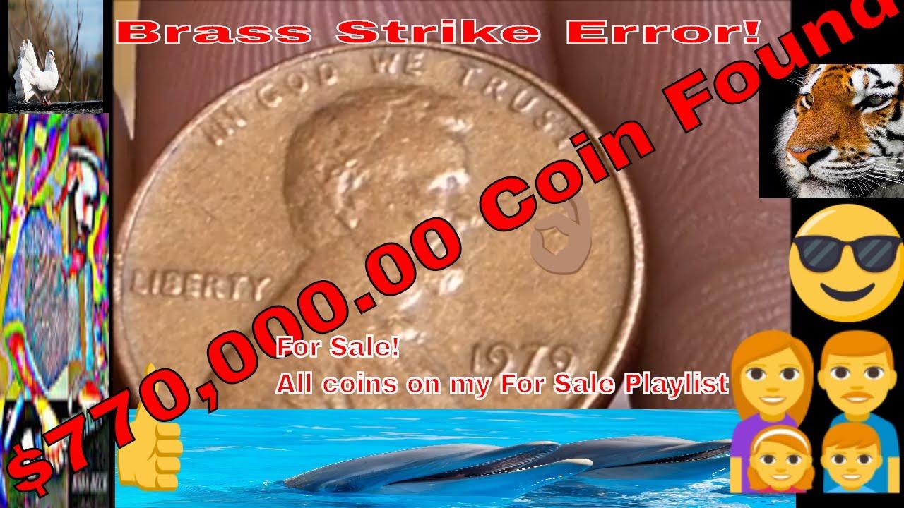1979    $770,000.00 Cent Error Found!!  In Washington D.C!!  For Sale!!