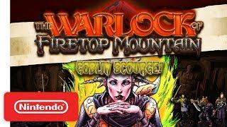 The Warlock of Firetop Mountain: Goblin Scourge Edition! - Launch Trailer - Nintendo Switch