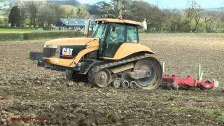 Cultivating for Maize with Cat Challenger.