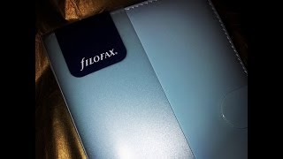 Review : Filofax Patent Compact Organiser in Duckegg Blue (Personal size)