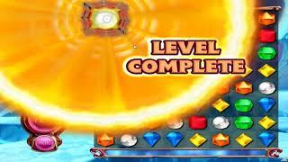 Bejeweled 3: What Happens When a Bomb Gem Detonates on Level Complete