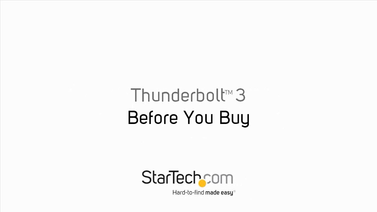 Thunderbolt 3 to Dual DisplayPort Adapter - 4K 60Hz - Mac and Windows  Compatible