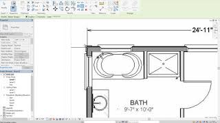 Scaling a reference image in Revit - Module 1