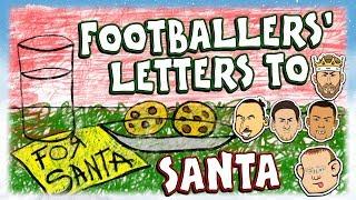 💌FOOTBALLERS' LETTERS TO SANTA!💌 Messi, Ronaldo, Zlatan, Ramos & Rooney!