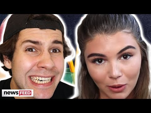 David Dobrik SPEAKS OUT On Olivia Jade's Wellness Amid Heightening Scandal! thumbnail
