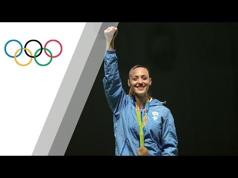 Korakaki wins first gold medal for Greece since 2004