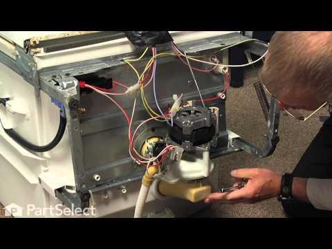 Dishwasher Repair- Replacing the Motor and Pump Kit (GE Part ... on