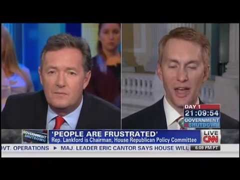 Piers Morgan To GOP Rep. James Lankford: Why Do Any of You Deserve Pay During Shutdown?