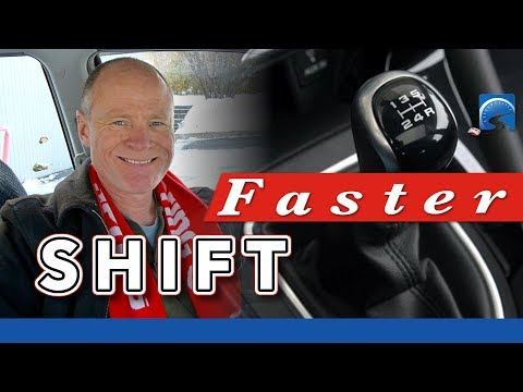 Shift Faster | How to Drive a Manual Car Smarter & More Effi
