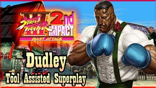 【TAS】STREET FIGHTER 3 DOUBLE IMPACT - DUDLEY