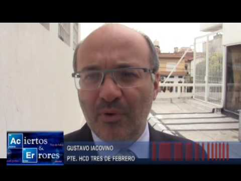 Gustavo Iacovino Pte. HCd Tres de Febrero