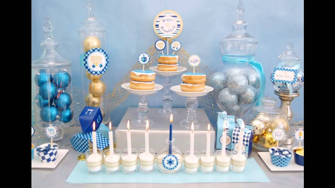 & Stunning Hanukkah home decorating ideas - YouTube