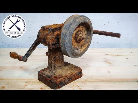 Antique Hand Cranked Grinder - Restoration