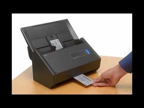 Fujitsu ScanSnap iX500 Color Duplex Desk Scanner Mac PC | BY SHOPIN REVIEW