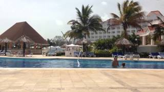 Grand Bahia Principe Jamaica noisy building work May 2015