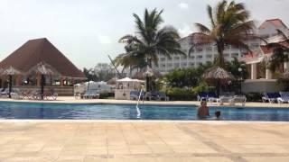 Grand Bahia Principe Jamaica noisy building work May 2015