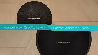 Harman Kardon Onyx Studio Mini vs Harman Kardon Onyx Studio | Bluetooth Speaker Review