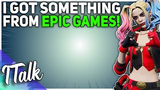 Epic Games SENT ME SOMETHING! (Fortnite Battle Royale)