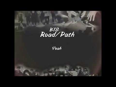 BTS - Road/Path (길) [Indo Lirik]