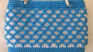 como hacer carteras a crochet