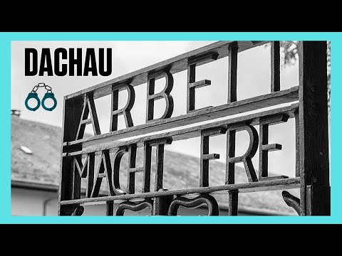 The CONCENTRATION CAMP of DACHAU, GERMANY (complete tour)