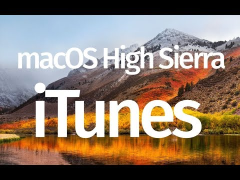 How To Update To MacOS High Sierra 10.13.4 And ITunes 12.7.4