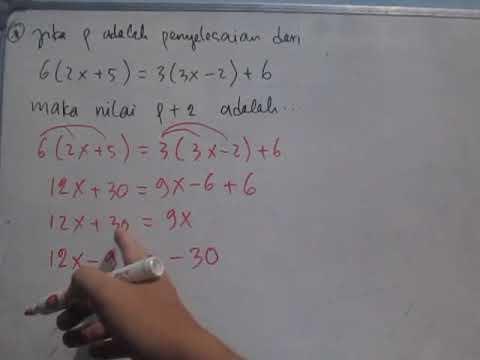 cara-menyelesaikan-persamaan-linear-satu-variabel-aljabar-sederhana