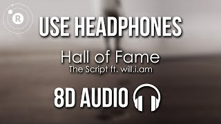 Cover images The Script - Hall of Fame (8D AUDIO) ft. will.i.am