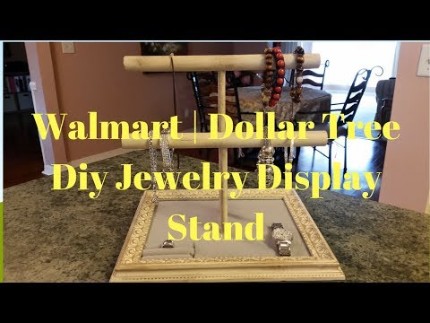 walmart-|-dollar-tree-diy-jewelry-display-stand