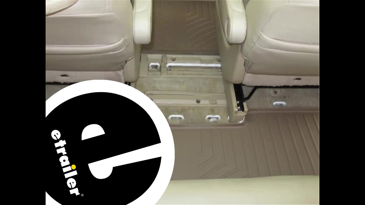Floor mats odyssey - Review Of The Weathertech Third Row Floor Liner On A 2008 Honda Odyssey Etrailer Com