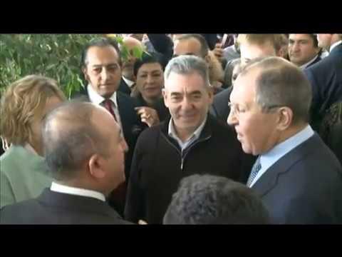 С.В.Лавров и местные власти в Турции/Lavrov, local authorities and the Russian compatriots in Turkey