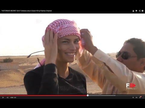 """""""VICTORIA'S SECRET 2013"""" Adriana Lima in Dubai HD by Fashion Channel"""