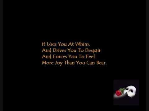 Love Never Dies - Phantom of The Opera