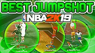 BEST CUSTOM JUMPSHOT IN NBA 2K19 - 100% GREENLIGHT EVERYTIME - NEVER MISS AGAIN