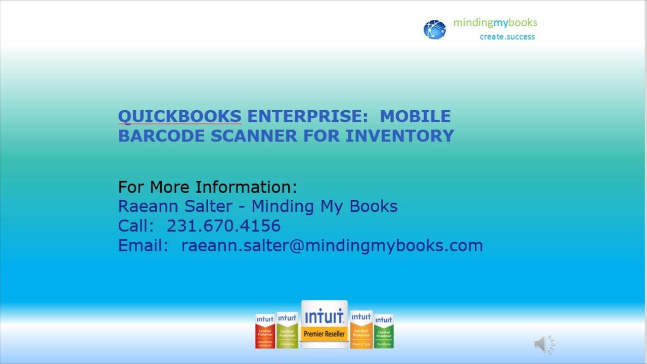 QuickBooks Enterprise: Advanced Inventory - Mobile Barcode Scanner