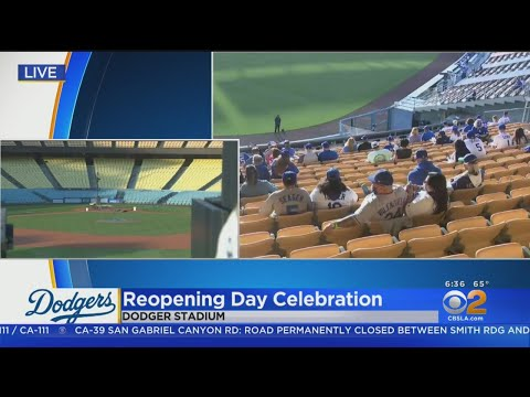 Dodgers Welcoming Back