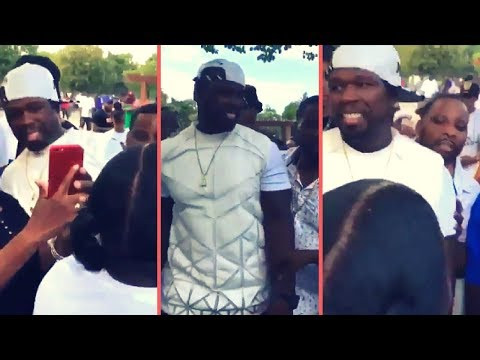 50 Cent Pulls Up In His Old Hood South Jamaica Queens With No Security The Streets Go Crazy