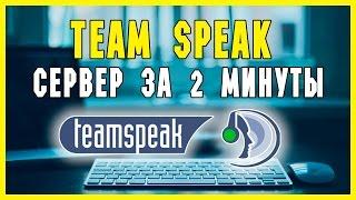 кАК СОЗДАТЬ TEAMSPEAK 3 СЕРВЕР? за 2 минуты!!