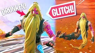5 NEW FORTNITE GLITCHES!! DRUNK AND LIKE MERMAID in FORTNITE!